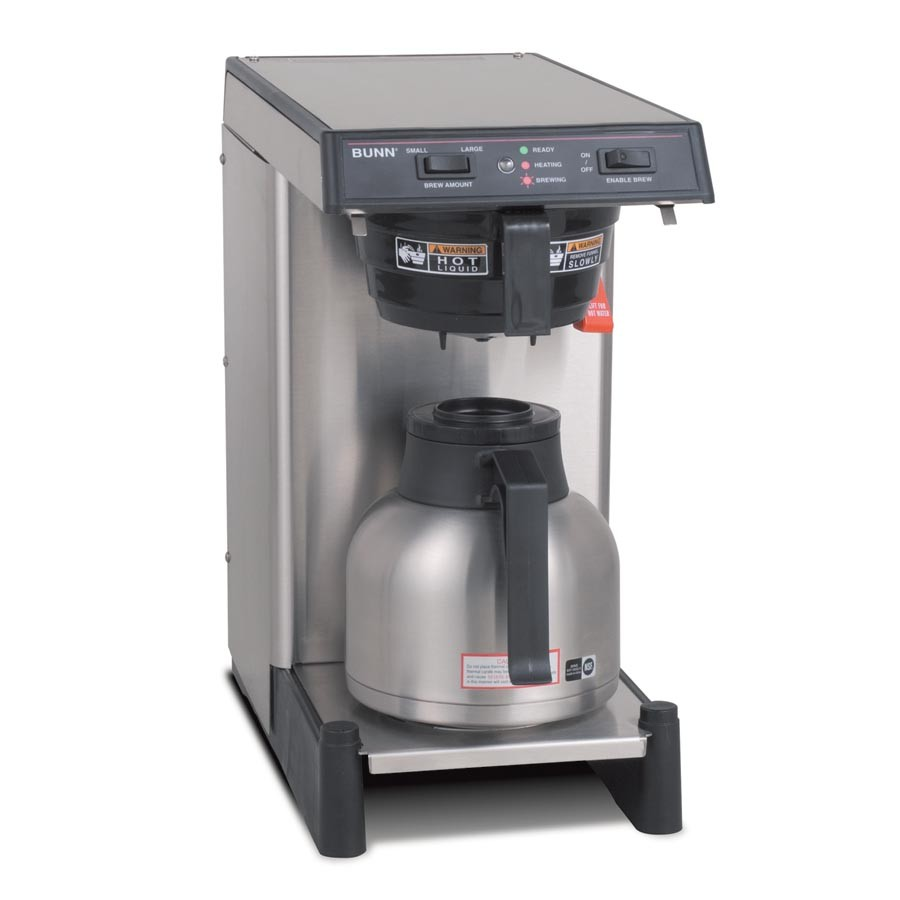Smartwave Thermal Brewers Wave Silver With Booster Tray